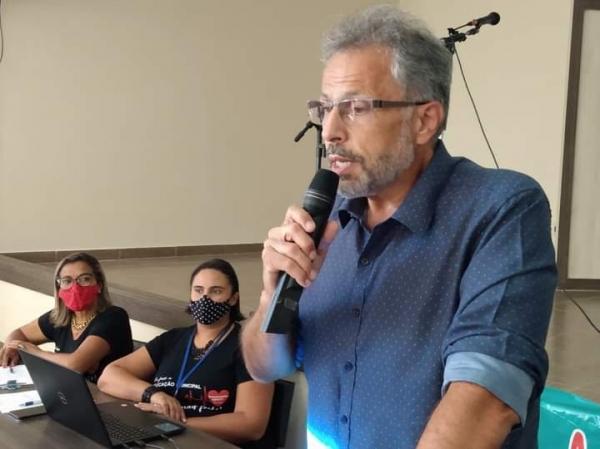 REUNIÃO DE SECRETÁRIOS CONTA COM A PRESENÇA DO SECRETÁRIO ESTADUAL DA EDUCAÇÃO